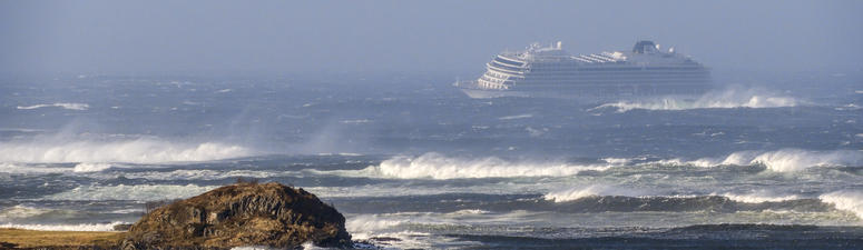 Helicopters Rescue Cruise Ship Passengers