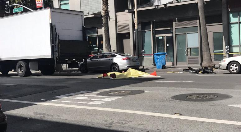 A woman was killed while riding a Ford GoBike in San Francisco on March 8, 2019.
