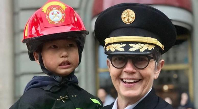 Jeanine Nicholson has been named chief of the San Francisco Fire Department.