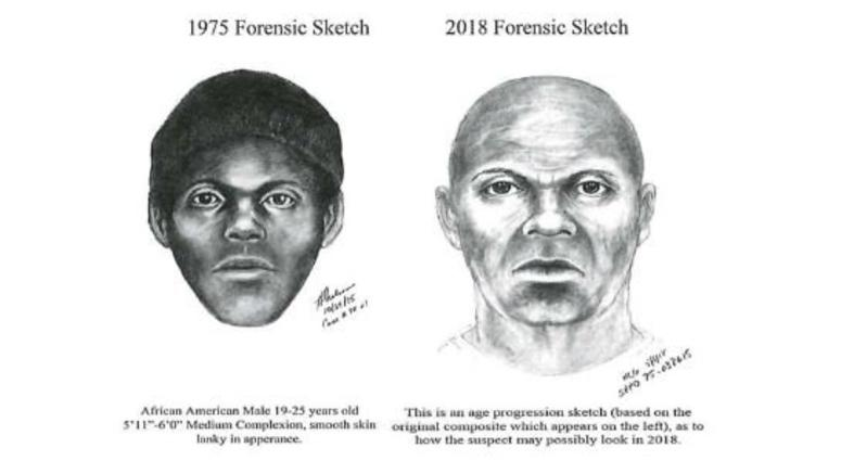 """San Francisco police released this updated forensic sketch of the suspected """"Doodler"""" serial killer."""