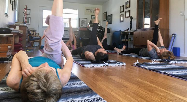 The Wildfire Mental Health Collaborative offers yoga designed to help people confronting traumatic experiences.