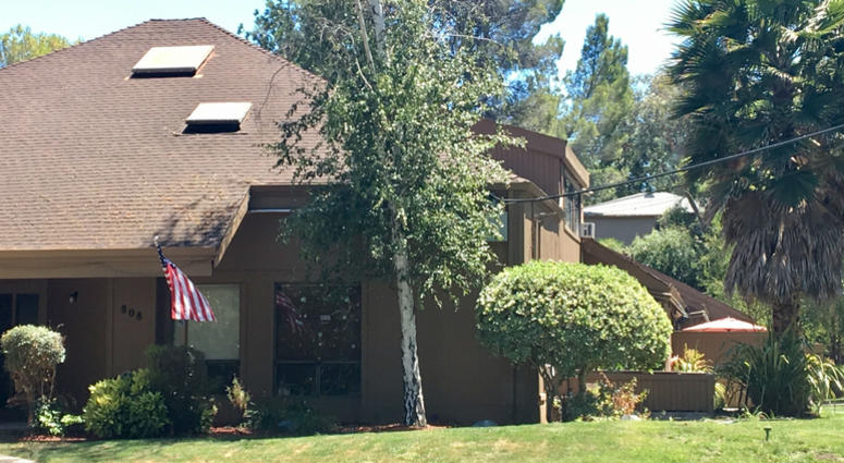 Two girls who were separated from their parents after allegedly entering illegally into the U.S. are being held in this Pleasant Hill house, which is operated by a nonprofit.