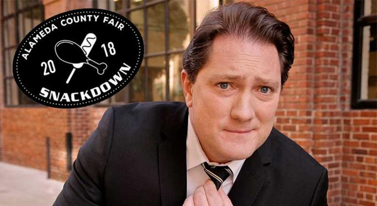 KCBS Radio's Foodie Chap - Liam Mayclem at the 4th Annual Smackdown