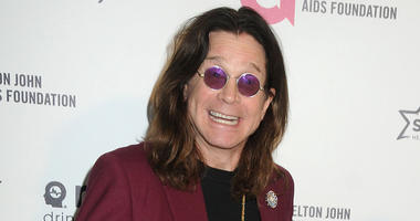 22 February 2015 - West Hollywood, California - Ozzy Osbourne, Sharon Osbourne (not pictured). 23rd Annual Elton John Oscar Viewing Party held at West Hollywood Park. Photo Credit: Byron Purvis/AdMedia/Sipa USA