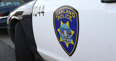 OAKLAND, CA - DECEMBER 06: An Oakland Police patrol car sits in front of the Oakland Police headquarters on December 6, 2012 in Oakland, California. Oakland City officials have come to an agreement to forfeit broad power over the Oakland Police Department