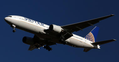 8/28/2016 - File photo dated 28/01/16 of a United Airlines plane, as two pilots were arrested on suspicion of being under the influence of alcohol as they prepared to fly a transatlantic passenger jet from Scotland to the US. (Photo by PA Images/Sipa USA)