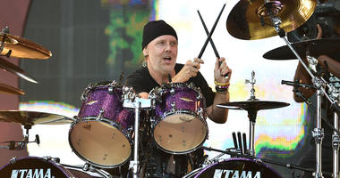 Drummer Lars Ulrich of Metallica performs at the 2016 Global Citizen Festival held in New City's Central Park in New York, NY, on September 24, 2016. (Photo by Anthony Behar)
