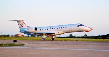 JetSuiteX offers what it describes as private air travel to destinations like Burbank and Las Vegas from the East Bay.