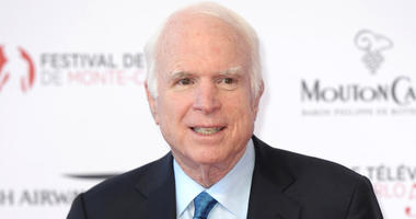 6/16/2017 - John McCain arriving for the 2017 Monte-Carlo Television Festival held at the Grimaldi Forum, Monte-Carlo, Monaco on June 16th 2017 (Photo by PA Images/Sipa USA)