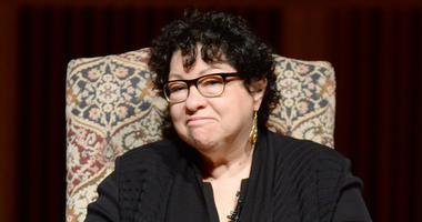 Sonia Sotomayor, Associate Justice of the Supreme Court of the United States of America, speaks at Queens College at LeFrak Concert Hall in New York City borough of Queens, NY, on October 16, 2017. (Anthony Behar/Sipa USA)