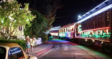The Santa Cruz Holiday Lights Train returns.