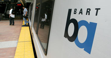 SAN FRANCISCO - JULY 05: Commuters walk off of a Bay Area Rapid Transit (BART) train July 5, 2005 in San Francisco, California. With a strike deadline looming at the end of the July 5, BART management and union representatives are trying to hammer out a c