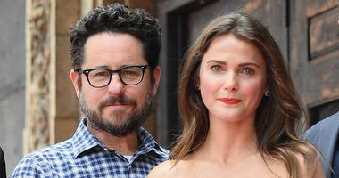 HOLLYWOOD, CA - MAY 30: Producer/writer Joel Fields, producer J.J. Abrams, actor Keri Russell and Matt Reeves attend as Keri Russell is honored with Star on The Hollywood Walk of Fame on May 30, 2017 in Hollywood, California. (Photo by Matt Winkelmeyer/Ge