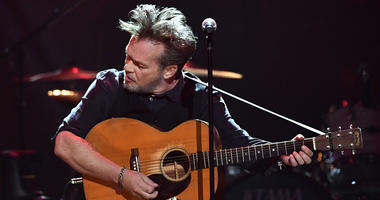 Apr 6, 2017; Nashville, TN, USA; John Mellencamp performs during the Merle Haggard Tribute concert at Bridgestone Arena. Mandatory credit: Larry McCormack/The Tennessean via USA TODAY NETWORK