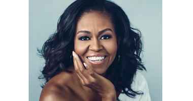 """""""Becoming,"""" by Michelle Obama"""