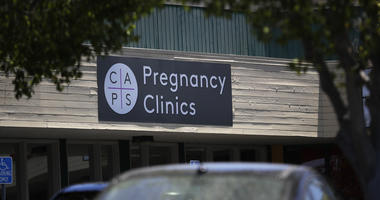 A College Area Pregnancy Services (CAPS) clinic is seen Tuesday, June 26, 2018, in San Diego. The Supreme Court on Tuesday effectively put an end to a California law that forces anti-abortion crisis pregnancy centers to provide information about abortion.