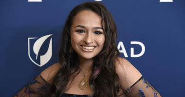 "In this April 12, 2018 file photo, Jazz Jennings arrives at the 29th annual GLAAD Media Awards in Beverly Hills, Calif. The 17-year-old ""I Am Jazz"" star said in an Instagram post on Thursday, June 28, 2018, that she's doing great following gender confirma"