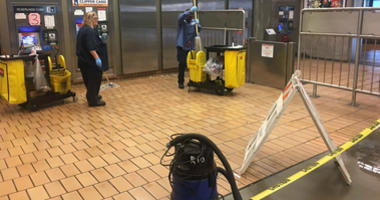 BART closed its Ashby Station for hours on October 31 due to blood on the platform from a man who said he cut his hand on glass.