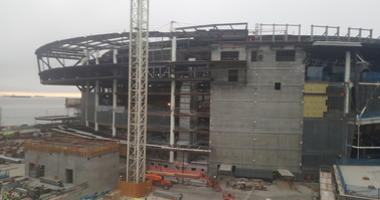 Chase Center construction site