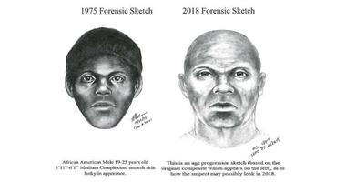"San Francisco police released this updated forensic sketch of the suspected ""Doodler"" serial killer."