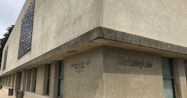 Officials at UC-Berkeleys law school are thinking about changing the name of its main classroom building.