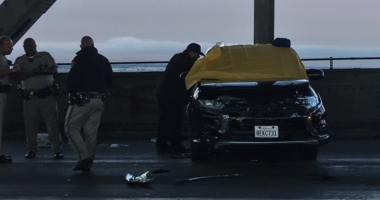 Vehicle involved in Bay Bridge shooting