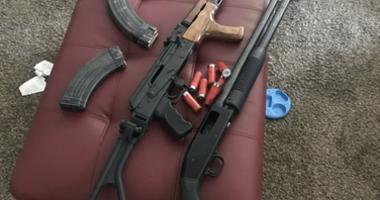 Weapons seized by Oakland police