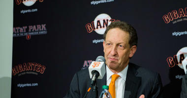 San Francisco Giants CEO Larry Baer