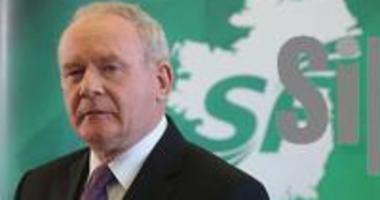 The late Martin McGuinness, a former deputy first minister of Northern Ireland and member of the terrorist Irish Republican Army.