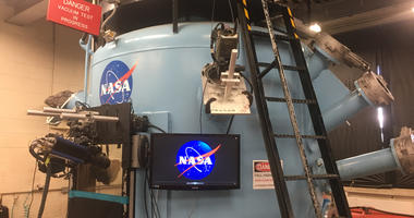 The Ames Research Center is conducting experiments that may be useful for the next round of NASA missions to the moon or Mars.