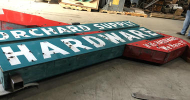 Police Recover Stolen Historic Shop Sign In San Jose