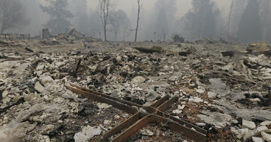Thousands of buildings were destroyed in Paradise, Calif. during the Camp Fire.