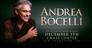 Andrea Bocelli With The San Francisco Symphony