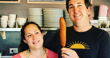 Ryan & Samantha Ramey of Estero Café (Photo credit: Foodie Chap/Liam Mayclem)