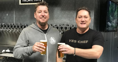 Liam Mayclema and Ryan Westerman of Rotator Taproom