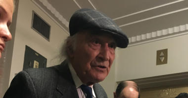 Attorney Tony Serra spoke to reporters after a judge rejected a plea deal for his client Derick Almena's role in the Ghost Ship warehouse fire that killed 36 people.