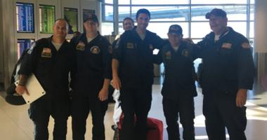 A team of East Bay firefighters returned from a relief mission to parts of North Carolina damaged by Hurricane Florence.