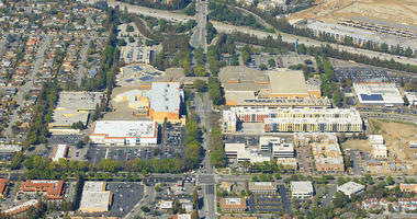 Developer Sand Hill wants to redevelop the Vallco shopping mall with 2,400 units of housing, 400,000-square feet of shopping and 1.8-million square feet of offices.
