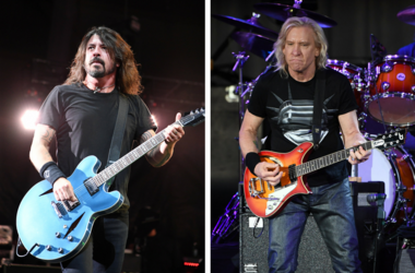 Foo Fighters and Joe Walsh