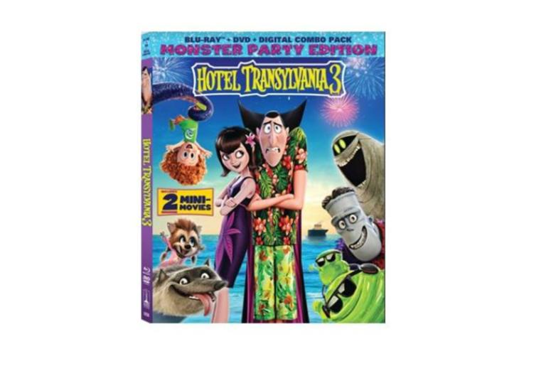 Enter For Your Chance To Win Hotel Transylvania 3 On Blu Ray