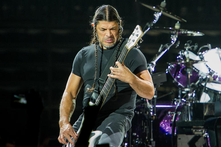 Robert Trujillo of Metallica