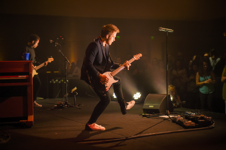 Hunter Hayes performs at The Country Music Hall of Fame's annual Nightfall at The Hall Celebration