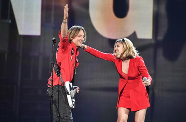 Keith Urban and Julia Michaels