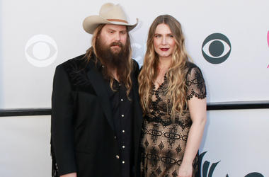 Chris Stapleton and wife, Morgane