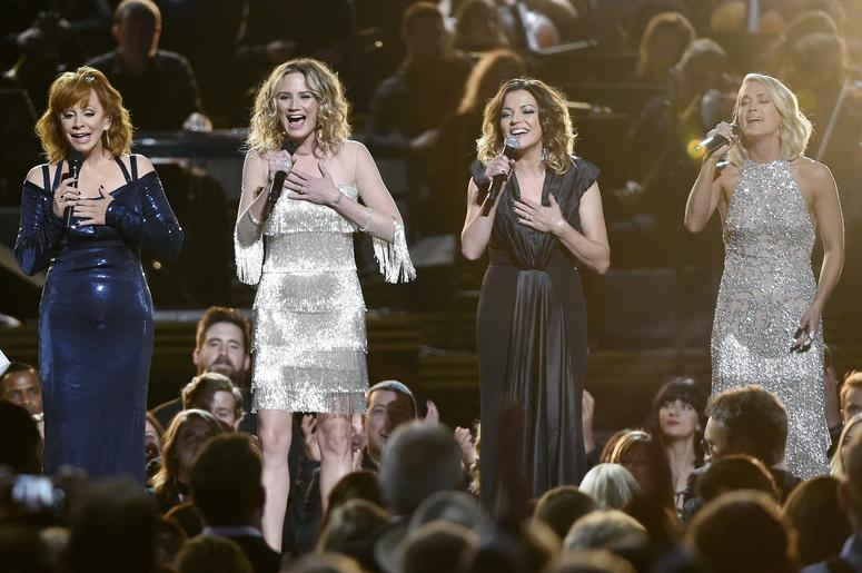 Reba McEntire, Jennifer Nettles, Martina McBride and Carrie Underwood