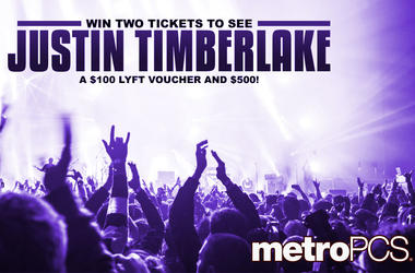 Win tickets to see Justin Timberlake from MetroPCS