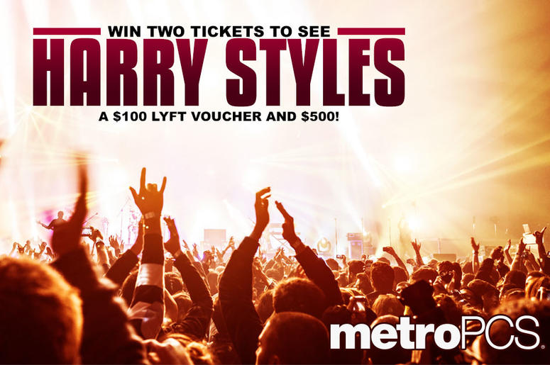 Win tickets to see Harry Styles from MetroPCS