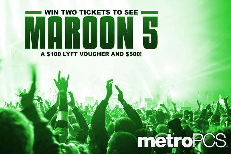 Win tickets to see Maroon 5 from MetroPCS