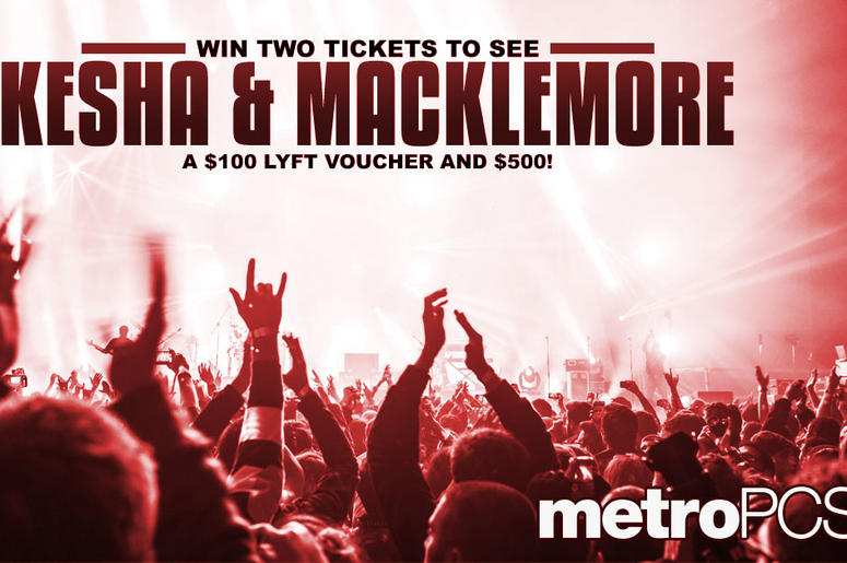 Win tickets to see Kesha and Macklemore from MetroPCS