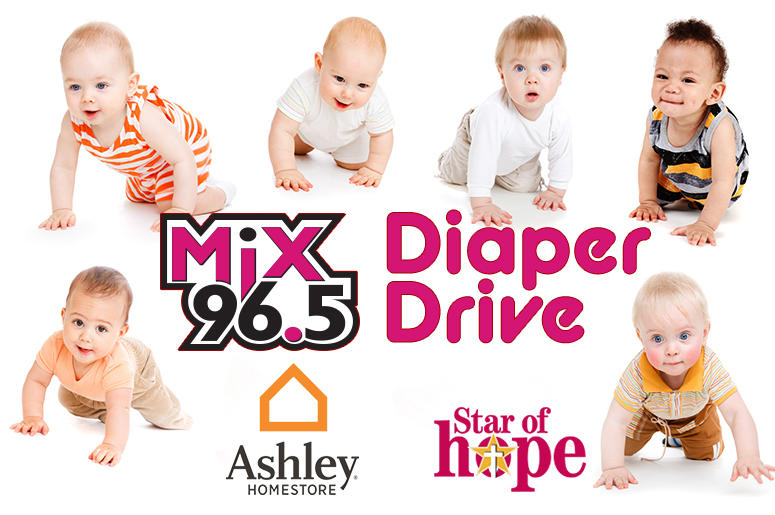 Celebrate Baby Pepper by donating diapers.